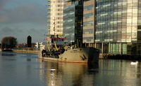 WD Mersey at Salford Quays 6/12/09