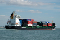 Vega Stockholm IMO 9358539 7464gt Built 2006 Container Ship Flag Liberia