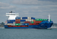 Aquarius J IMO 9296987 6454gt Built 2004 Container Ship Flag Antigua Barbuda
