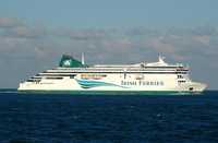 Irish Ferries Ulysses IMO 9214991 50938gt Built 2001 Passenger RoRo Cargo Ship Flag Cyprus