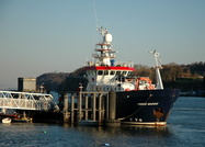 Prince Madog at Menai 3rd January 2010