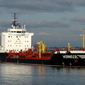 Hornisse  IMO 9186728 8066gt Built 1998 Chemical/Oil Products Tanker Flag Germany at Eastham