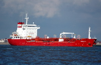 Triple A IMO 9322152 8539gt Built 2006 Chemical/Oil Products Tanker Flag Marshall Isles