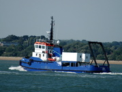Shannon  Multi Purpose Research Vessel at Calshot 28/6/2010