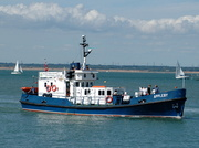 MVS Appleby at Cowes Isle of Wight July 2010 former RN Tender A383 built Pimblotts Yard Northwich Cheshire