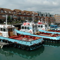 J Butcher and Sons Tugs at Portsmouth