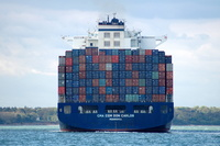 CMA CGM Don Carlos IMO 9305491 91649gt Built 2006 Container Ship Flag Liberia