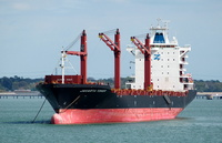 Jakarta Tower IMO 9367815 26638gt Built 2008 Container Ship laid up Southampton Water