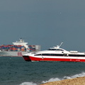 OOCL Germany and Red Jet 4