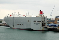 Baltic Highway  IMO 9243461 42238gt Built 2001 Vehicles Carrier Flag Panama
