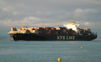 NYK Vesta IMO 9312808 97000gt Built 2007 Container Ship 13/7/2010