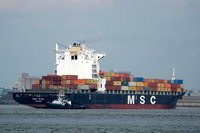 MSC Gina IMO 9202663 40631gt Built 1999 Container Ship
