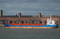 Linnau IMO 9280689 2452gt Built 2006 General Cargo Ship underway to Belfast 17/8/2010