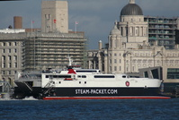 Manannan arriving Liverpool