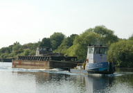 Passing Thelwall Ferry