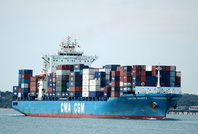 CMA CGM Quartz IMO 9385611 50500 gt Built 2008 Container Ship