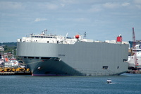 Georgia Highway IMO 9339820 36422gt Built 2007 Vehicles Carrier Flag Japan