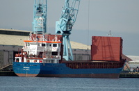 Bramau IMO 9280677 2452gt Built 2005 General Cargo Ship at Birkenhead