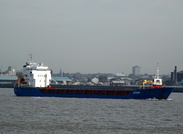 Ditzum IMO 9323651 3173gt Built 2005 General Cargo Ship inbound for Garston