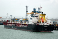 Levana on Fawley Oil Terminal esso berth 3