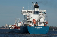 Bro Distributor IMO 9313113 10660gt Built 2006 Chemical/Oil Products Tanker