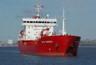 Ruth Theresa IMO 9383663 5713gt Built 2008 Chemical Tanker 24th October 2010