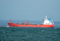 Diplomat IMO 9340362 8539gt Built 2006 Chemical/Oil Products Tanker seen passing Ryde