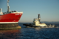 Northern Ocean and tug Ashgarth