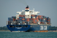 CMA CGM Chopin IMO 9280603 65730gt Built 2004 Container Ship