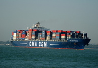 CMA CGM Puccini IMO 9280627 65247gt Built 2004 Container Ship