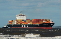 MSC Alyssa IMO 9235050 43575gt Built 2001 Container Ship