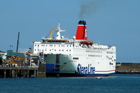 Stena Europe IMO 7901760 at Fishguard