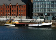 Loach at Canning Dock