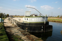 MSC Co WF No1 Barge