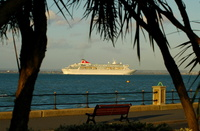 Cruise Ship Balmoral passing Cowes IOW