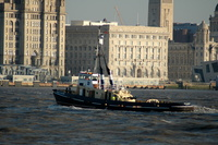 MSC Victory towing Skyline Barge