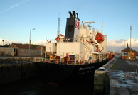 Stolt Puffin in Latchford Locks