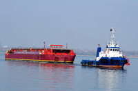 Tug and Tow East with Terra Marique at Eastham