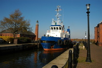 Tug East at Ellesmere Port Basin