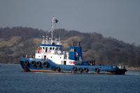 Tug East at Ellesmere