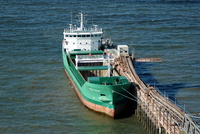 Arklow Ruler at Raynes Jetty 15th April 2012