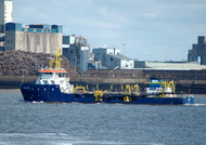 UKD Orca IMO 9491355 2972gt Built 2010 Dredger
