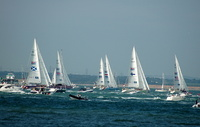 Start of the Clipper Race