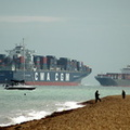 Container Ships on the Solent