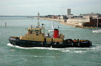 SD Bustler at Portsmouth