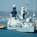 HMS Liverpool (D92) & HMS Dauntless (D33)