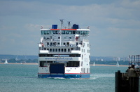 St Clare arriving Fishbourne