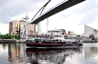Snowdrop arriving Salford Quays 20th June 2012