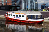 HMS69 Cardiff Pary Boat at Salford Quays