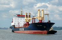 Fesco Ilyinsky with tugs Ashgarth & Svitzer Maltby
